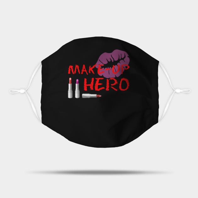 Make-Up Hero On Black