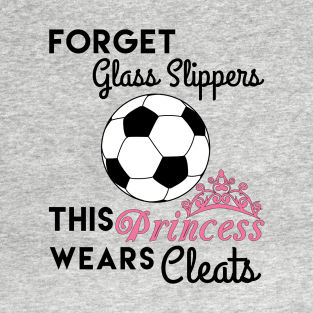 390902382db This Girl Wears Soccer Cleats T-Shirt