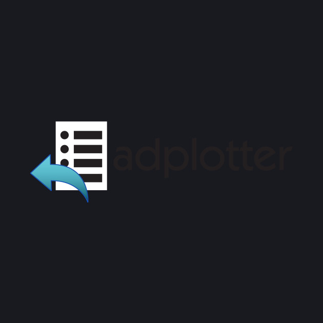 AdPlotter Logo - Black Text