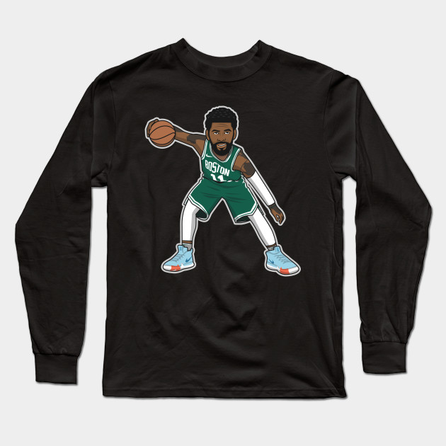 01d34affd284 Kyrie Irving Cartoon Style by rayd3rd - Kyrie Irving - Long Sleeve T ...