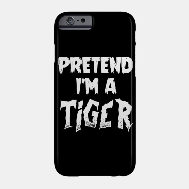 Tiger Halloween Costume Gift I Halloween Party Phone Case