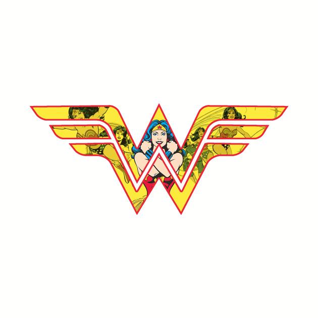 wonder woman classic logo