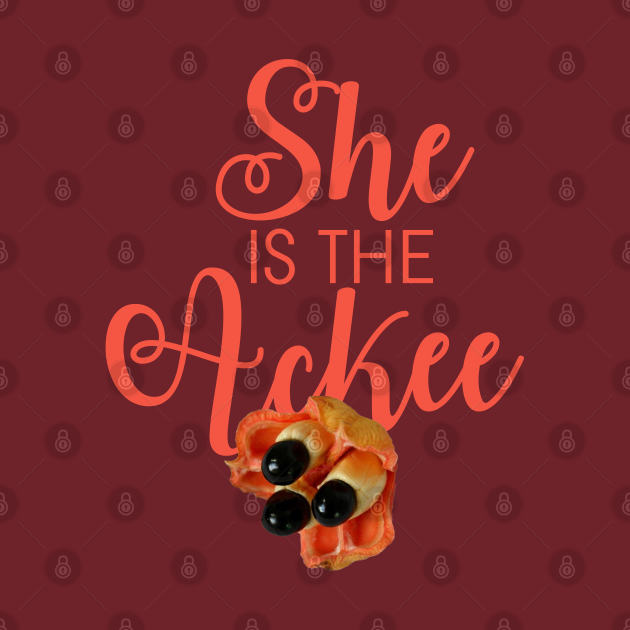 She is the Ackee