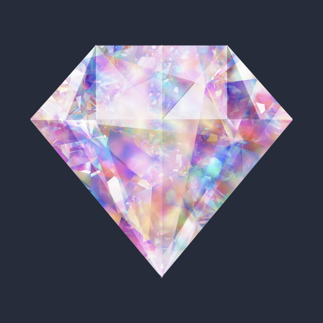 Sparkly Glittering Colorful Diamond