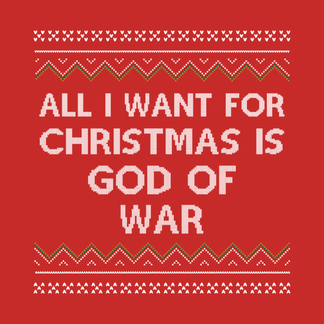 All I Want for Christmas is God of War