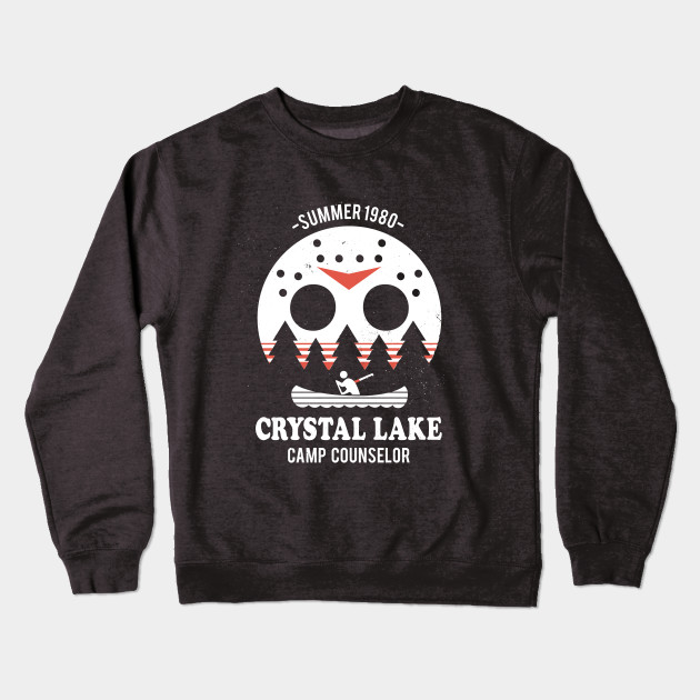 a5a8bf415 Camp Crystal Lake Counselor - Friday The 13th - Crewneck Sweatshirt ...