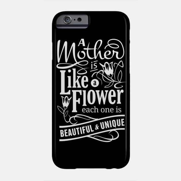 mother like a flower Phone Case
