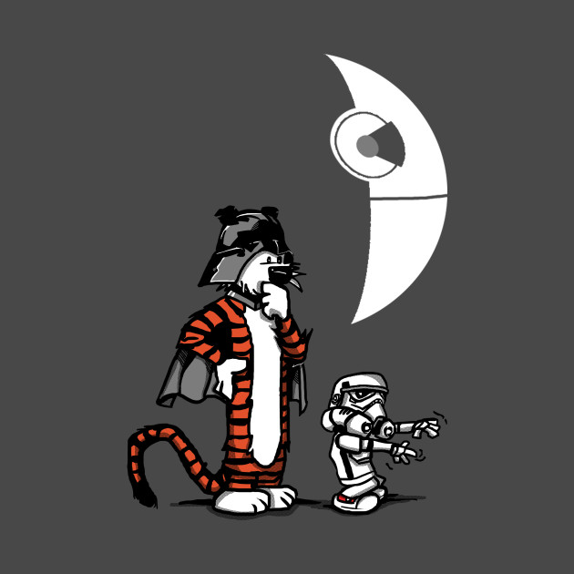 Darth Hobbes And Calvin Trooper T-Shirt