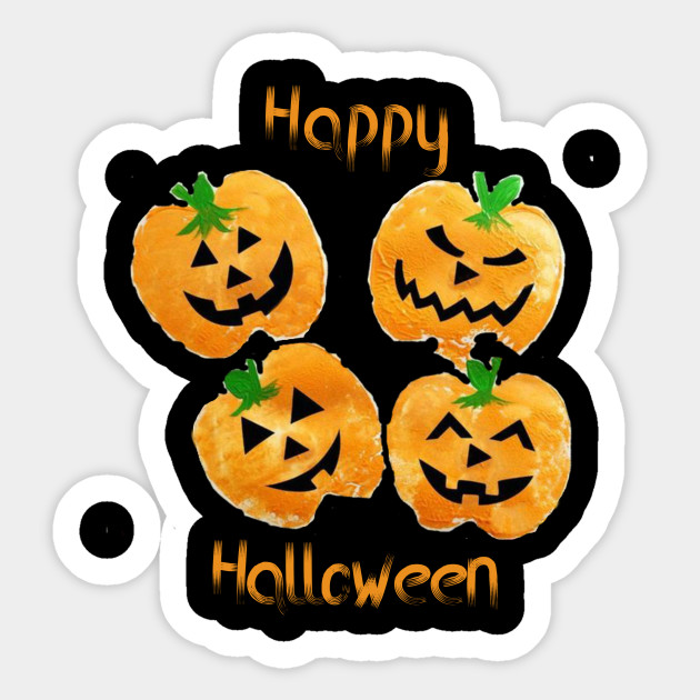 Happy Halloween 2019 Smiling Funny Pumpkins Halloween