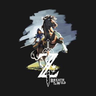 Zelda Breath of the Wild t-shirts