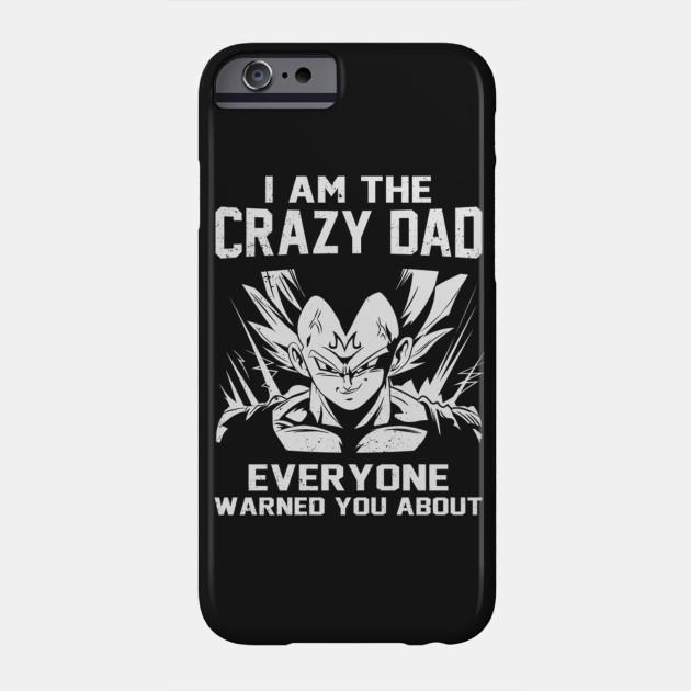 3f779276d Saiyan - Iam The Crazy Dad - Super Saiyan - Phone Case | TeePublic