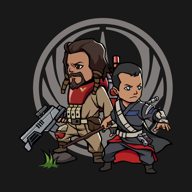 Chirrut and Baze