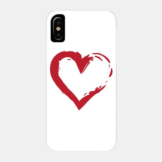 Heart Symbol Heart Phone Case Teepublic