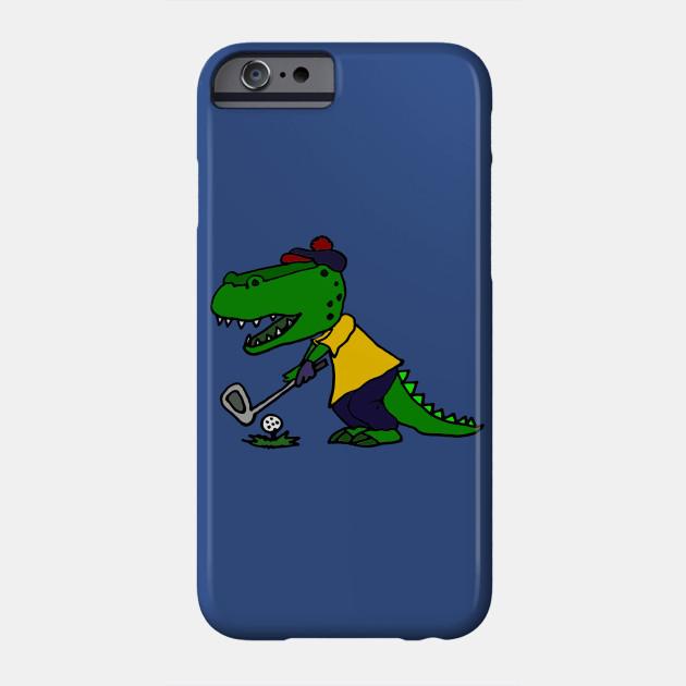 Funny Alligator Playing Golf Art - Golf - Phone Case   TeePublic on cartoon stay in shape, cartoon body of water, goodbye cruel world cartoon golf, sea animal headcovers golf,