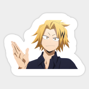 Kaminari Denki Stickers Teepublic Uk