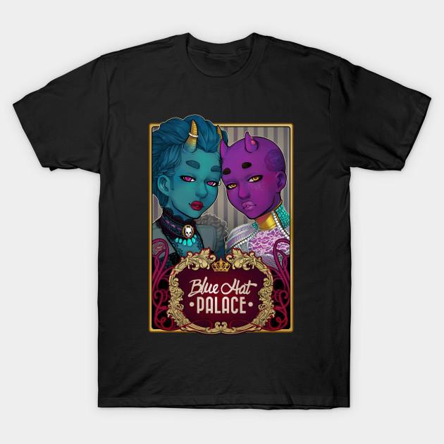 3f09cb0835da Blue Hat Palace - Turquoise - T-Shirt