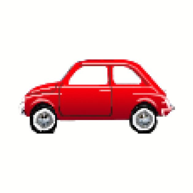 Fiat 500 pixelart