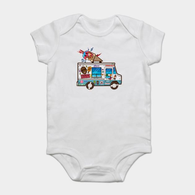 2a47f8b55 Guwop's Ice Cream Truck - Rap - Onesie | TeePublic
