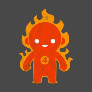 Kawaii Human Torch t-shirts