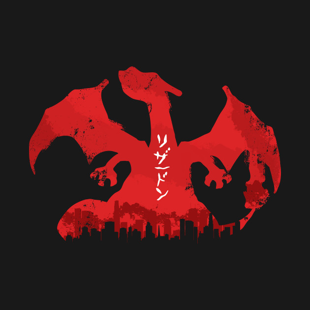 Charizard - Destroy All Pocket-Monsters