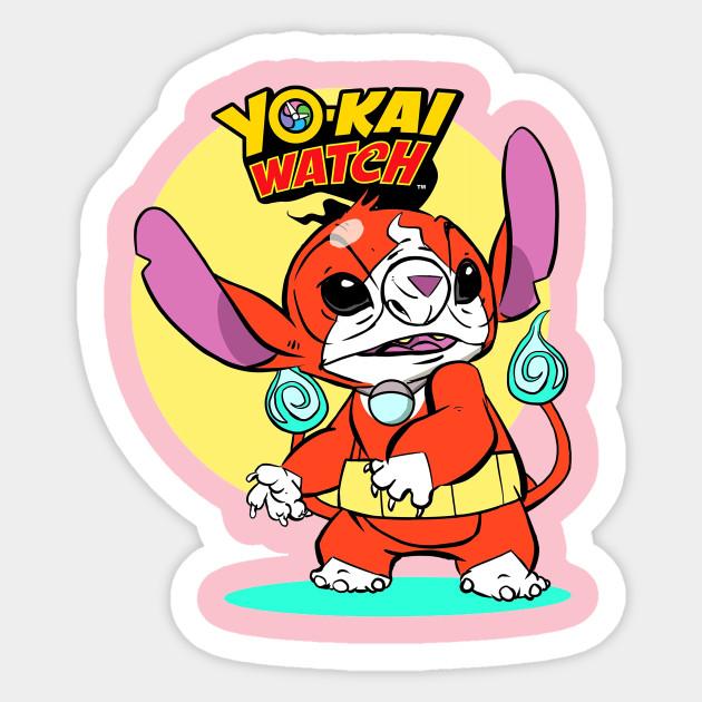 Yo Kai Watch Parody Of Stitch Fan Art