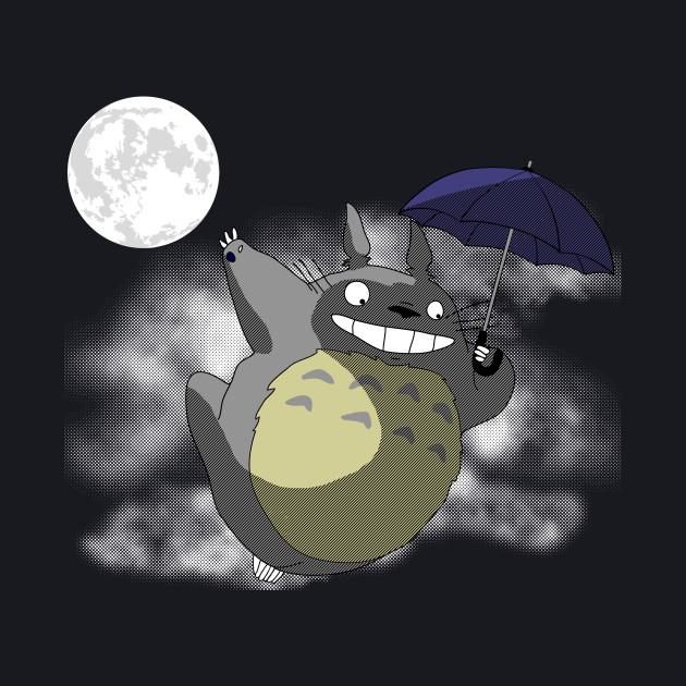 Neighbor under the moon