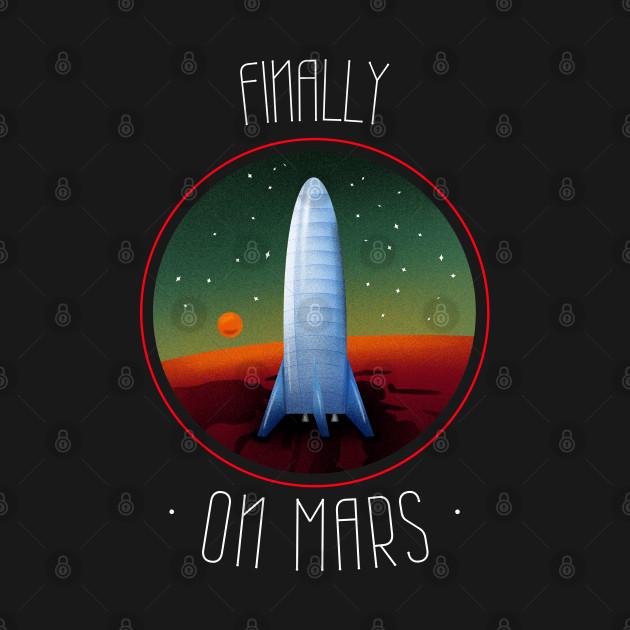 FINALLY ON MARS