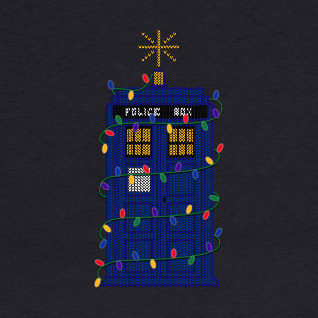 Happy Christmas from the Tardis