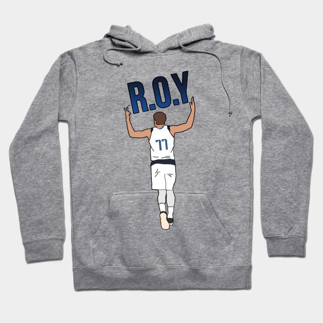 low priced 0ef7e da2f5 Luka Doncic Rookie of the Year 'ROY' - NBA Dallas Mavericks