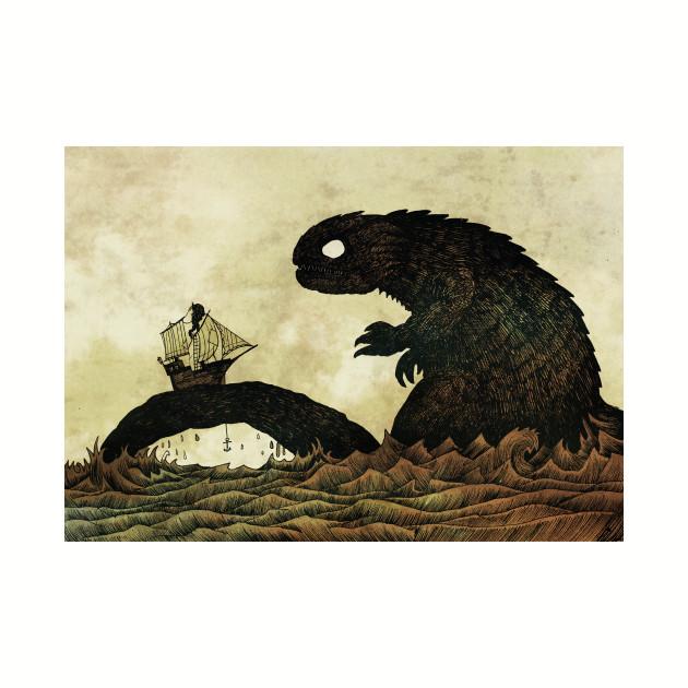 Leviathan & Ship