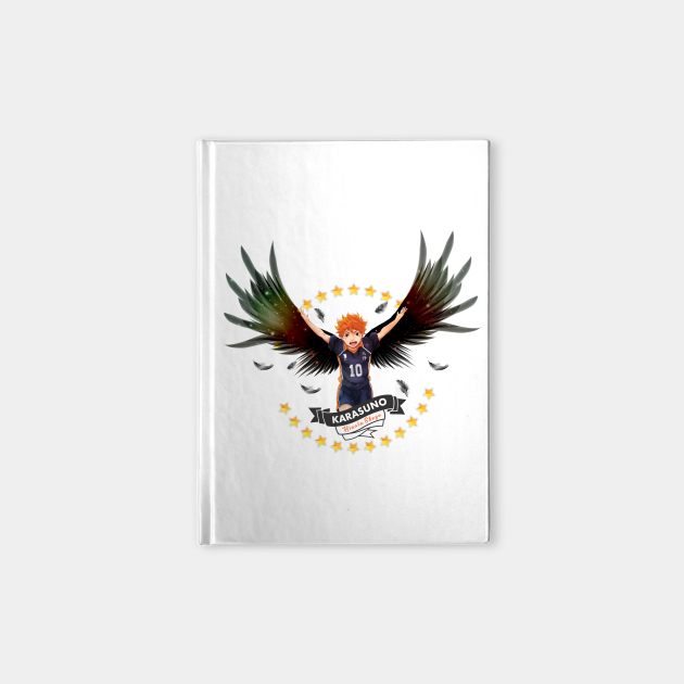 Hinata with wings fanart