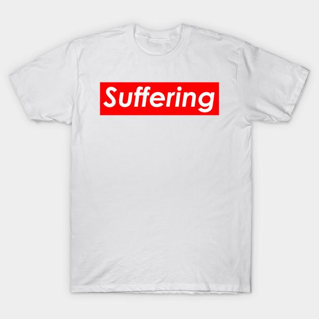 4c169ed0d5af SUPREME SUFFERING SAD BOYS - Supreme - T-Shirt | TeePublic