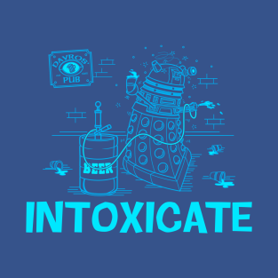 Intoxicate Blueprint t-shirts