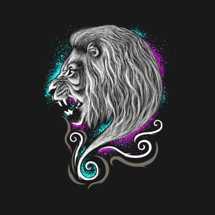 Rainbow Lion t-shirts