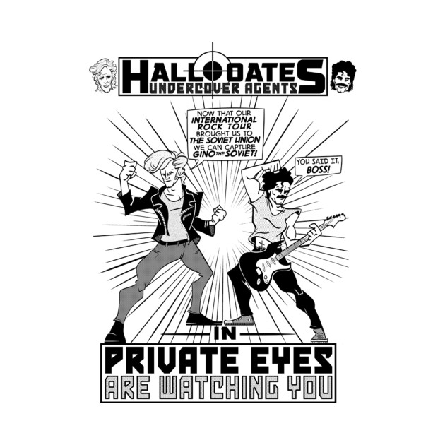 Hall & Oates: Undercover Agents