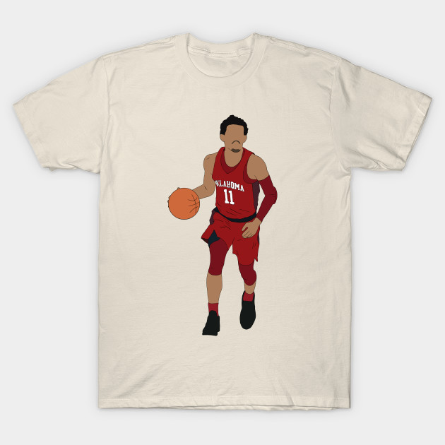 Trae Young Dribbling - Trae Young - T-Shirt  4f91a8408