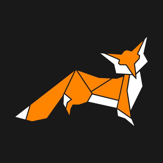 Little Fox Origami Fox Mug Teepublic