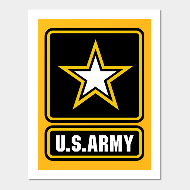 US Army logo - Us Army Logo - Wall Art | TeePublic