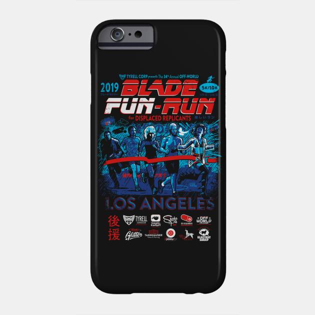 Blade Fun-Run for Displaced Replicants