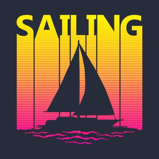 Vintage Retro Sailing Gift