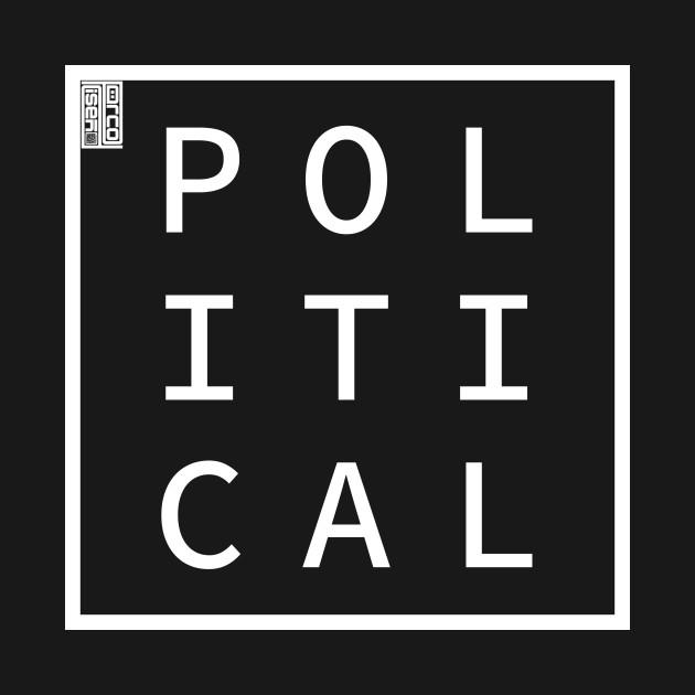 POLITICAL Define Me Word Simple Classic Square Box