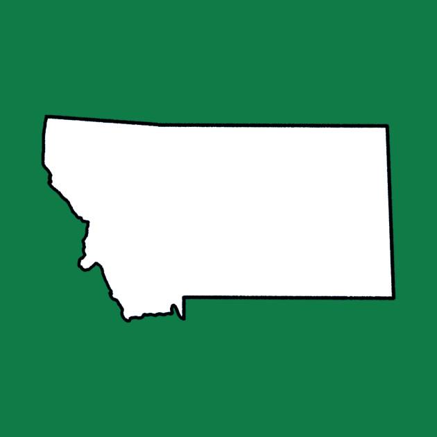 Montana - Blank Outline