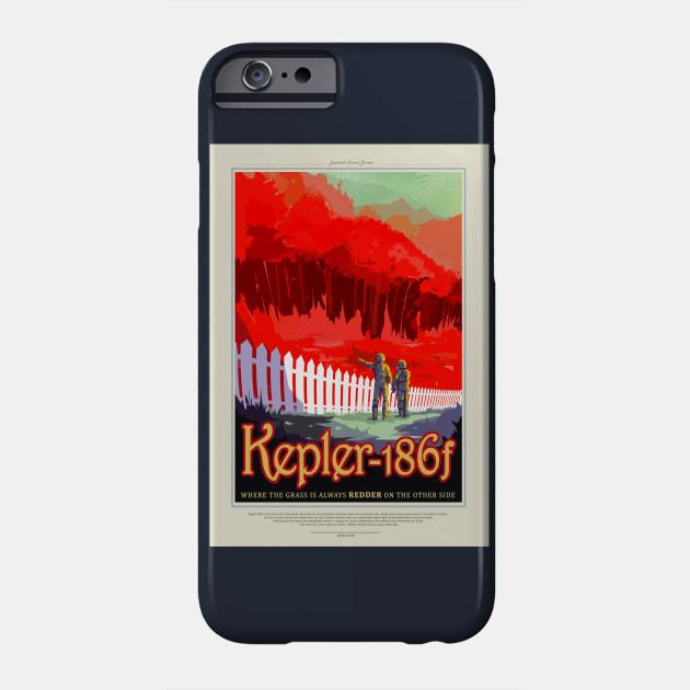 Kepler-186f Earth's cousin Phone Case
