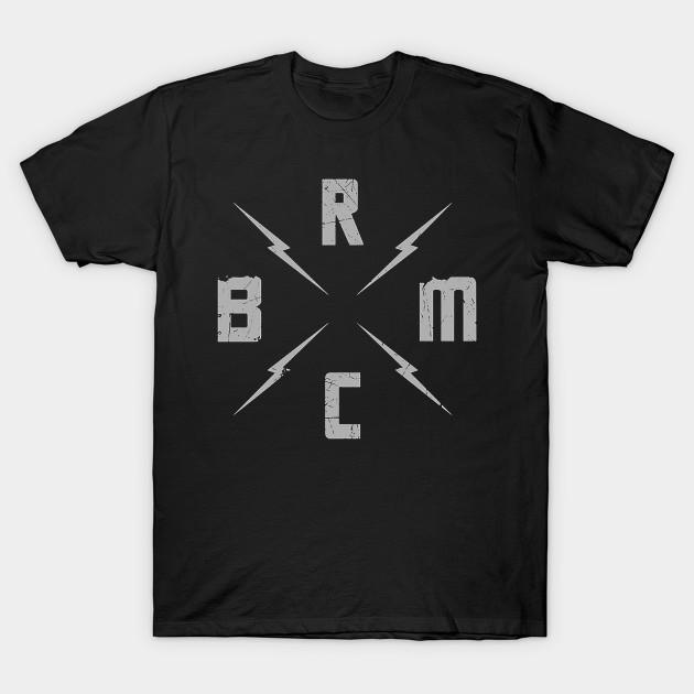 New Black Rebel Motorcycle Club Logo Rock Band Men/'s Black T-Shirt Size S-3XL
