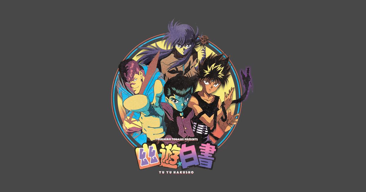 Yu yu hakusho yu yu hakusho sticker teepublic
