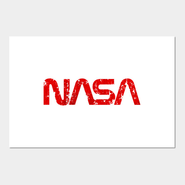 Vintage Space Logo Red by jacobcharlesdietz