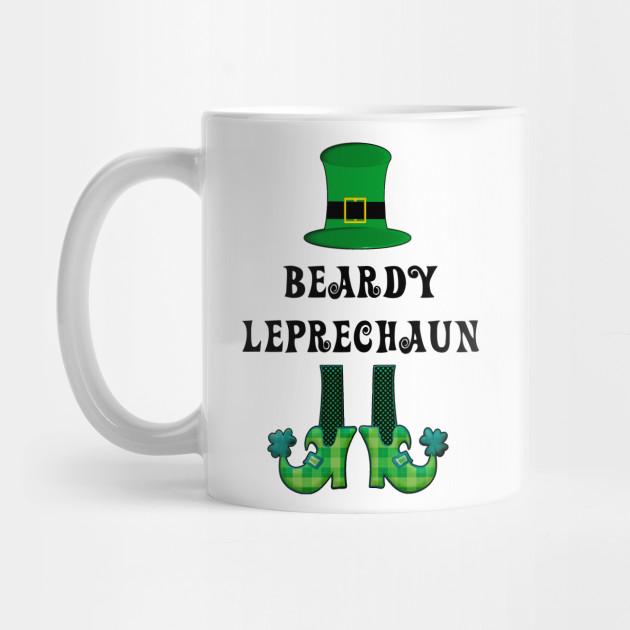 St Patrick's St Paddy's St Patty's Day Beardy Leprechaun Mug
