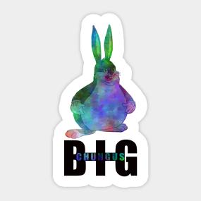 Big Chungus Meme Stickers Teepublic Uk