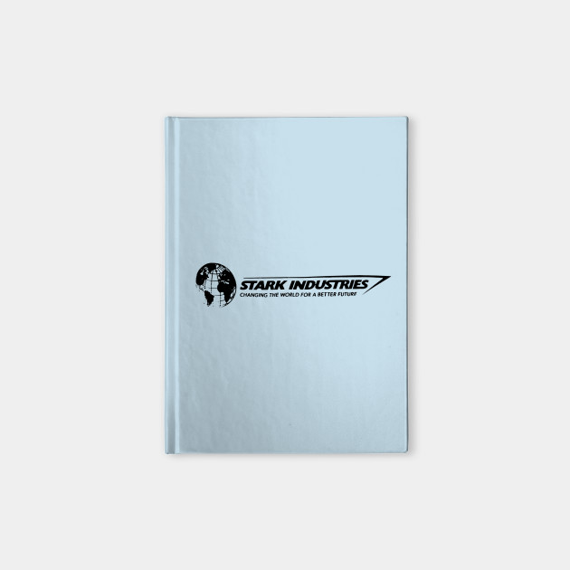 Iron man stark industries expo typography cuaderno teepublic mx 2659052 0 colourmoves
