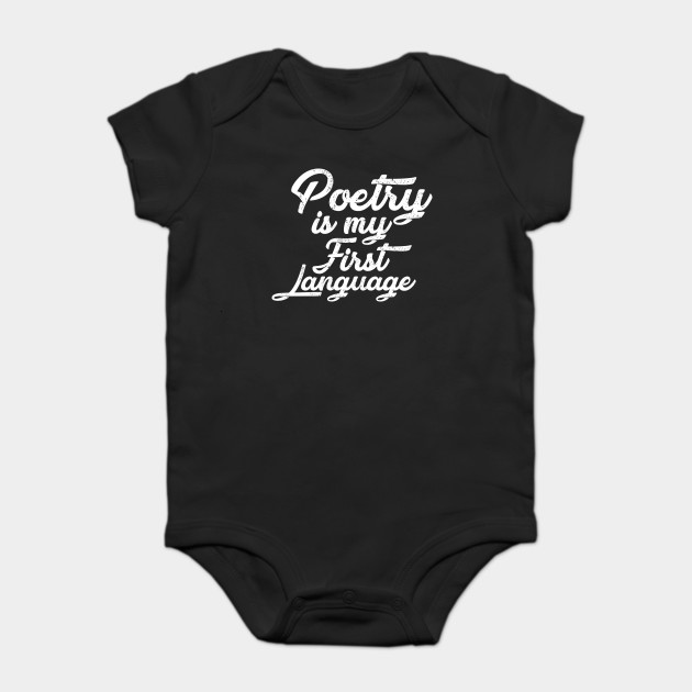 Poetry is my Language gifts - Gifts for